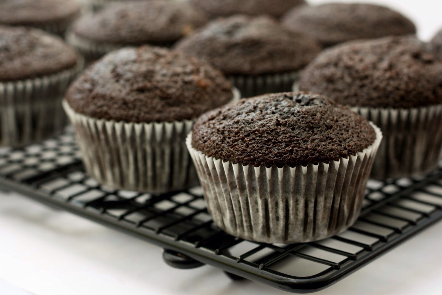 Buy choc cupcake batter and pour into cupcake tin half way, add a chocolate truffle in middle and rest of cupcake batter and bake, you will have delicious melt in the middle cupcakes.