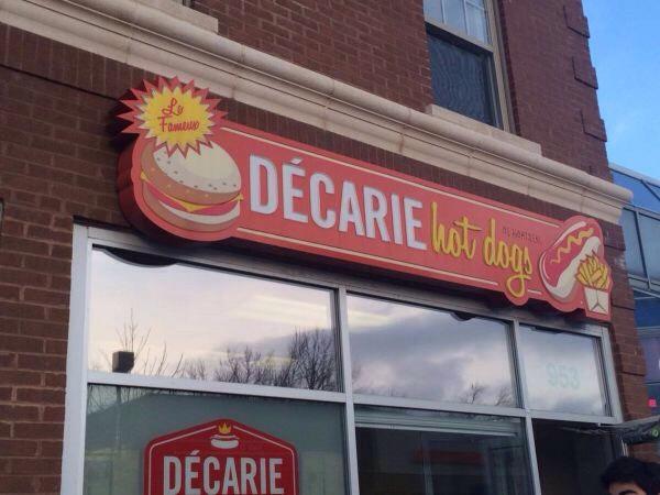 Decatur hot dogs = best poutine