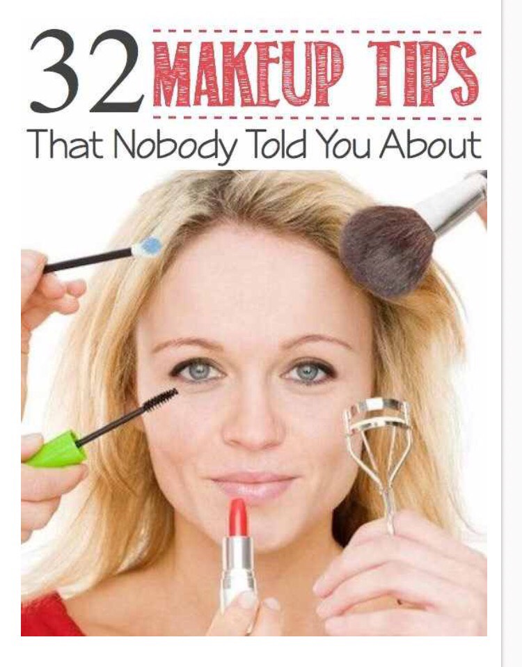 32 Makeup tips that will make your life easier! Enjoy! 😘❤️