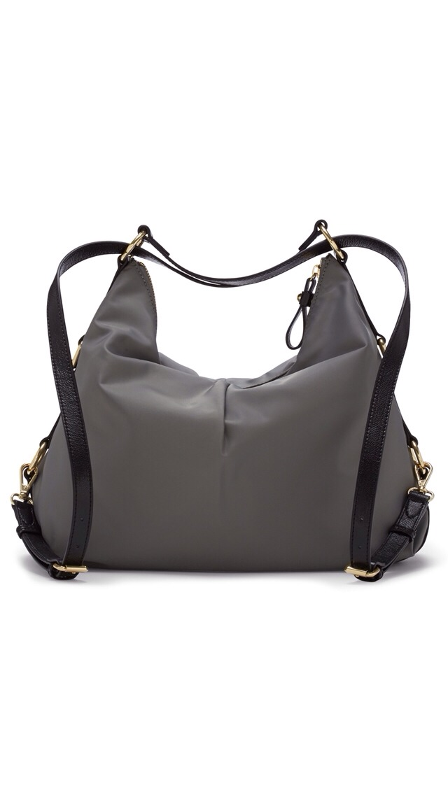 An ideal travel bag, the Vince Camuto Cris Satchel easily converts from an over-the-shoulder style to a trendy backpack.