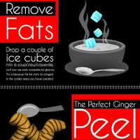 The tip/hack is drop oce cubes in to get excess grease/fat out! It congeals in those places and you can scoop it out!