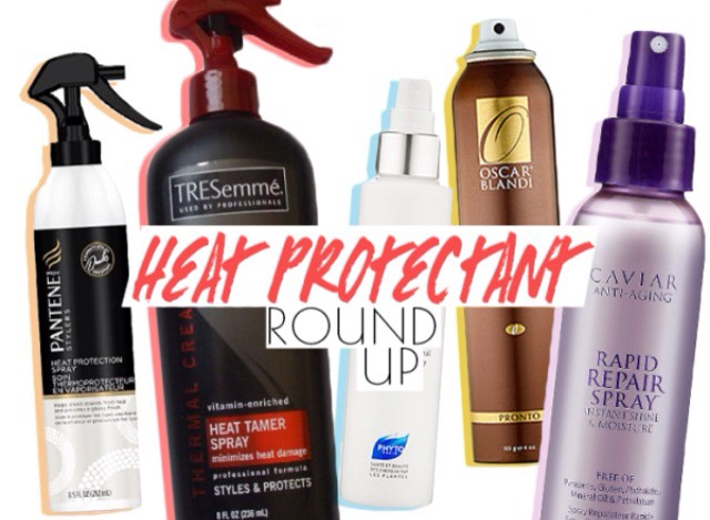 Lastly, if you must use heat, use protection!! I use two different protectants on my hair.