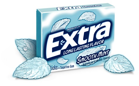 Gum, if you have smelly breath or a bad after taste 👌