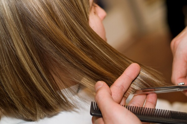 Don't think that not getting your hair trimmed is a good idea. It may sound good, but you should get your hair trimmed every 6-8 weeks. The extra, dead and dry ends actually make your hair grow slower. just try not to jumpy the gun, either.