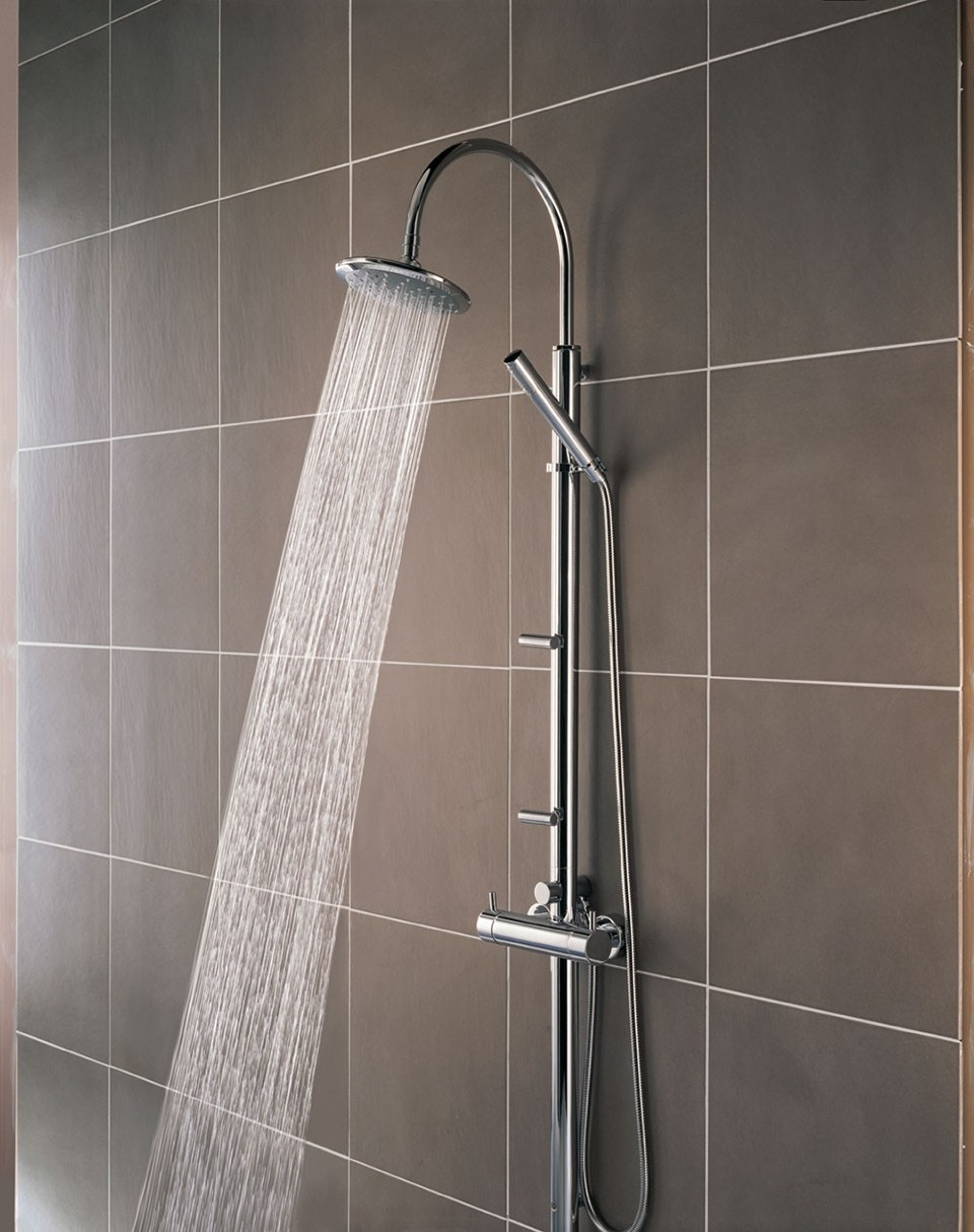 Start taking cold showers now. Hot water opens your pores which can let out good enzymes and make your hair dry. Cold keeps the shine in your hair and makes it less frizzy. But remember, only put it as cold as you can take it.