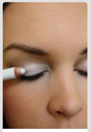 Use a white pencil as a base before applying eyeshadow to male your colors pop.