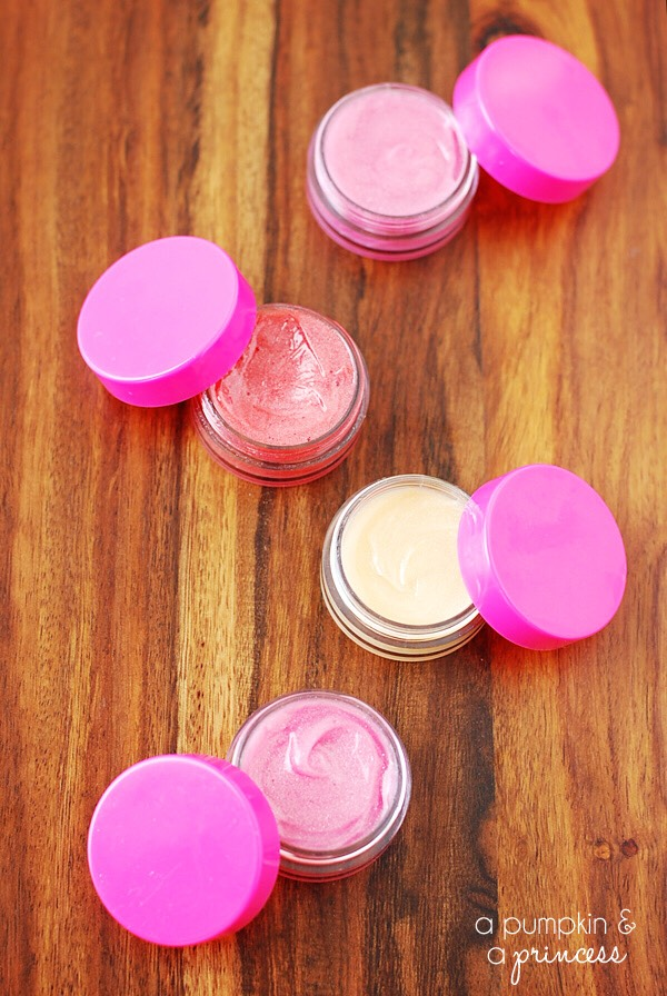 Make your own  lipgloss in any color you want. All you need is two ingredients!