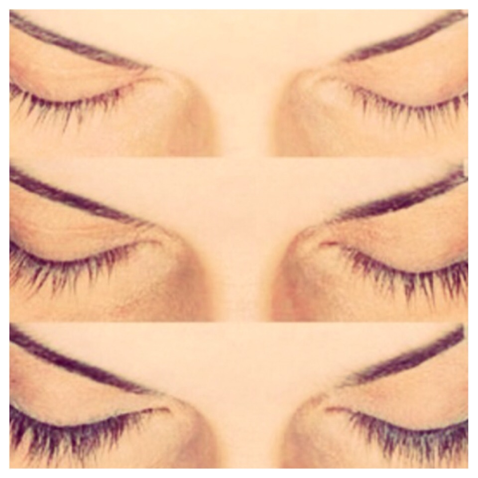 The more you repeat this process you will begin to notice the length in your eyelashes. It would be preferred to do this process at night. You will be less likely to touch your eyes while you are sleeping. Give it a few weeks before you notice any dramatic changes.
