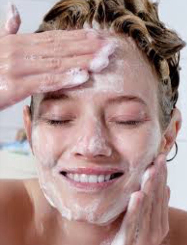 Wash your face throughly!!!!!