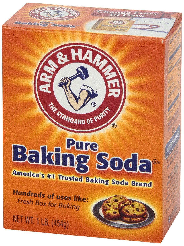 use 1 tablespoon of baking soda