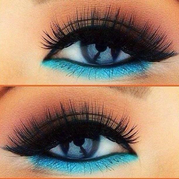 Blue for blue