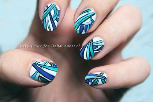 More Pucci nail art inspiration...