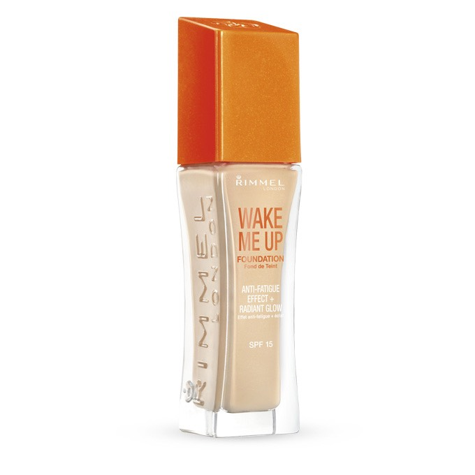 So the first is the Rimmel wake me up foundation, this is really inexpensive but provides a buildable coverage and also has tony glitter particles to give you a healthy glow, this is perfect for summer months,