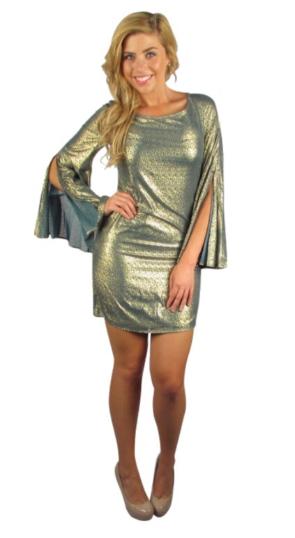 Before you make an unkind comment about this dress imagine the possibilities as a costume or the fact it's $2.99.