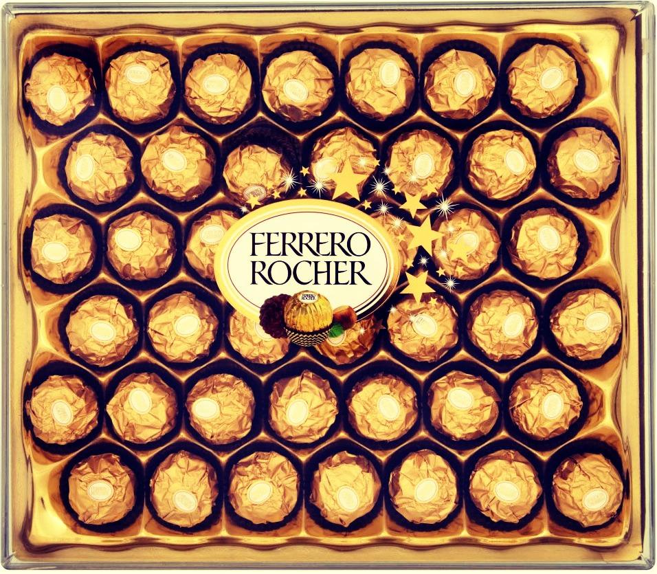 NUMBER 3: Ferrero Rocher