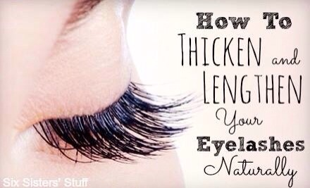How To Make Eyelashes Thicker And Darker Naturally