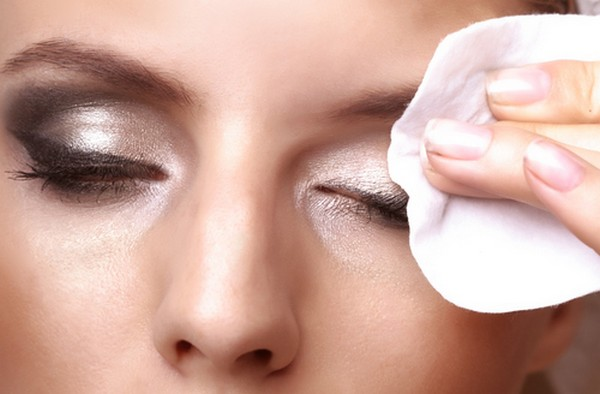 For lighter makeup, you can use a regular eye makeup remover or a gentle facial cleanser. However, using a good eye makeup remover is recommended because they are formulated for use on the delicate area of the eyes and to dissolve makeup to avoid excessive tugging of the skin during removal.
