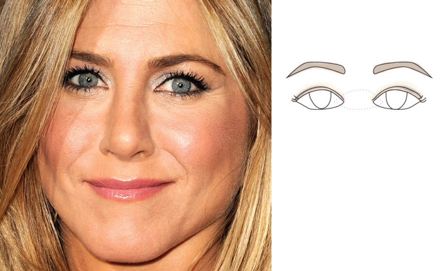 Don't apply thick eyeliner to small or close-set eyes. It will only exaggerate the smallness or closeness.