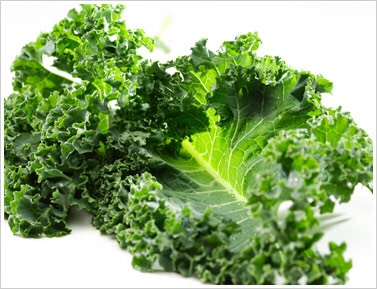 You want to get about a cup of kale