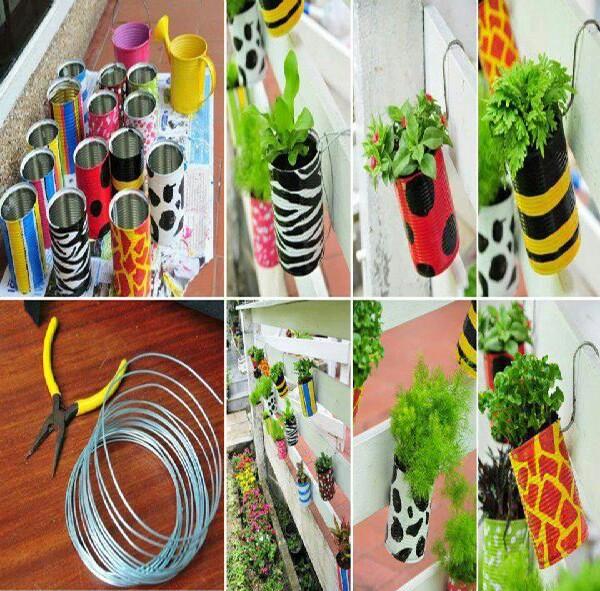 Diy Recycled Planters: Diy Recycled Planters By Angie AlenderAnderson