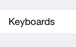 Step 4: Click on Keyboards