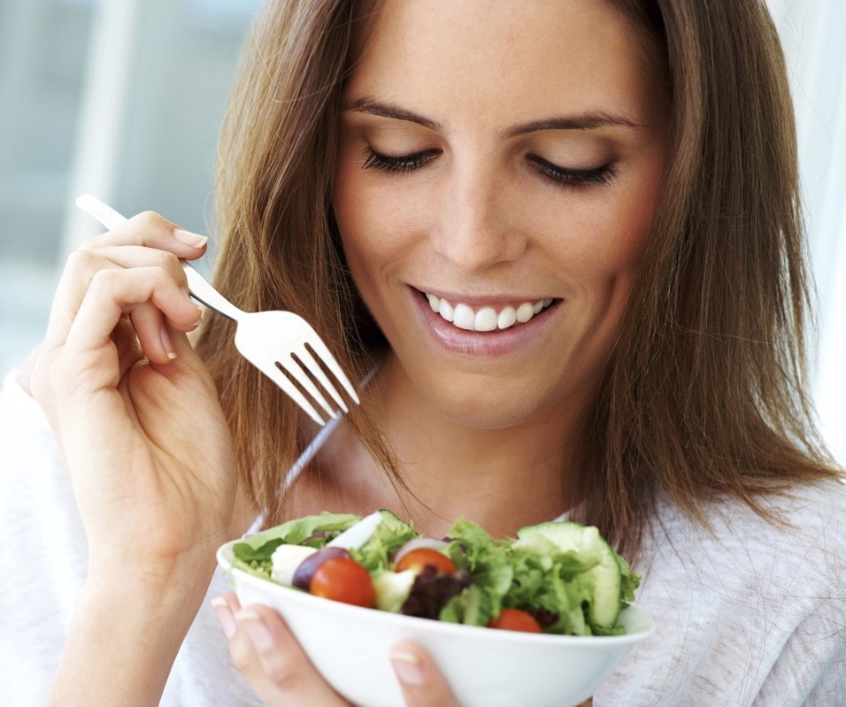 TAKE YOUR TIME WHILE EATING: Slowing down the process of eating your meal would ensure that you don't end up over-eating. Most people eat more than they need to because the body takes time to realize that it has had enough food.