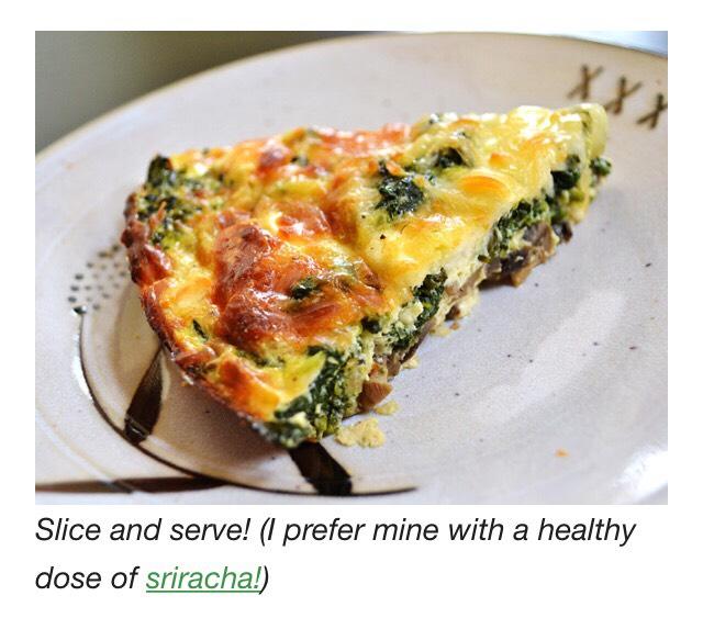 Garden Vegetable Crustless Quiche: Musely