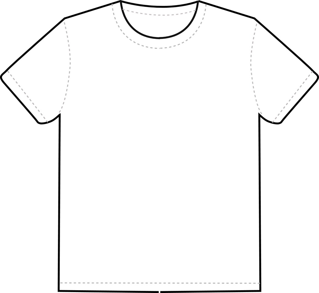 Make an old t shirt into a crop top or something new!