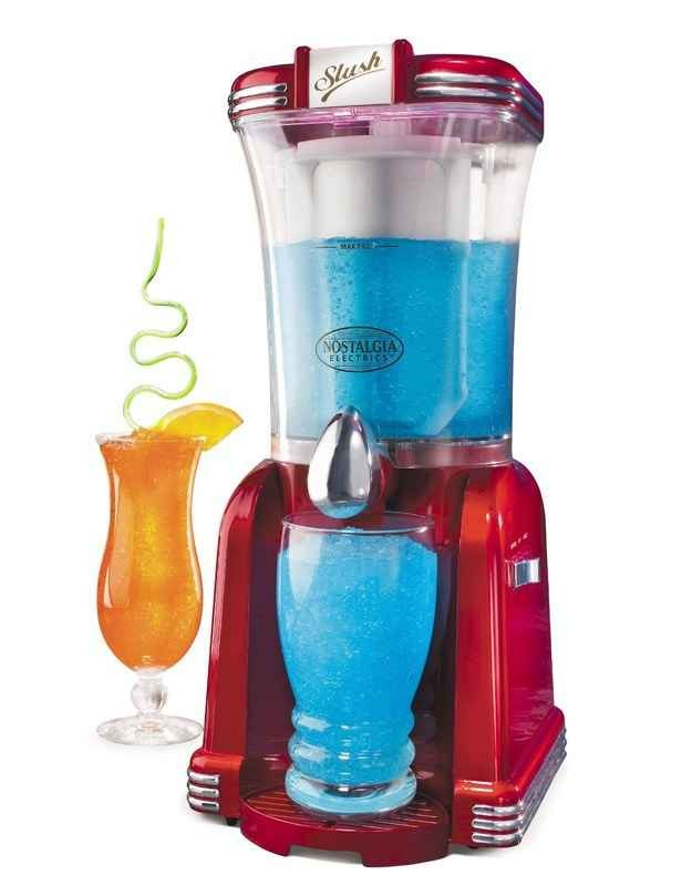 Slush machine that you can even add alcohol to for the perfect summer iced drinks. Available at amazon.com for 48.41