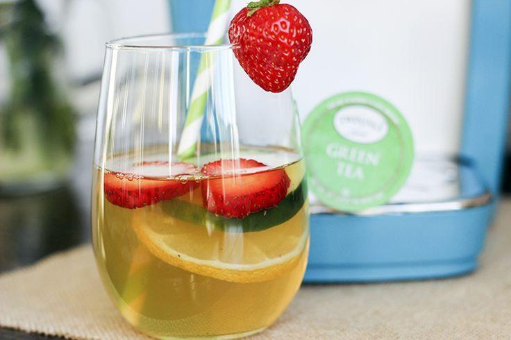 Detox Iced Green Tea RecipeHere