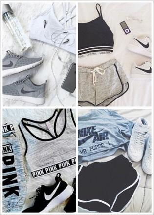 Then workout clothes 🌹