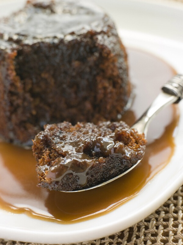 Slow cooker chocolate pudding with caramel sauce  Yields: 14 servings | Serving size: 1/2 cup | Calories: 269