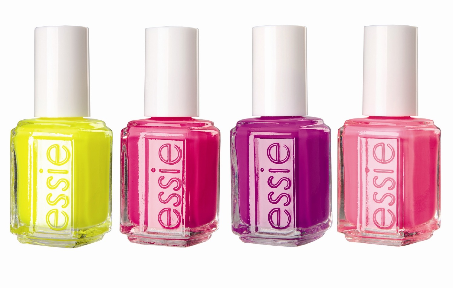 Finally, choose a nail polish! One of my favorite brands is Essie because they have a huge range of shades including neutrals + brights. Paint 2-3 coats onto your nails until you reach the desired opacity. For extra strength, apply another layer of nail hardener. BOOM. A perfect mani every time!