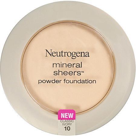 Apply powder foundation on regular lipstick.