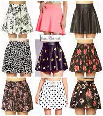Wear ANY skirt and match it with a cute top and look how easy that was! But so cute.