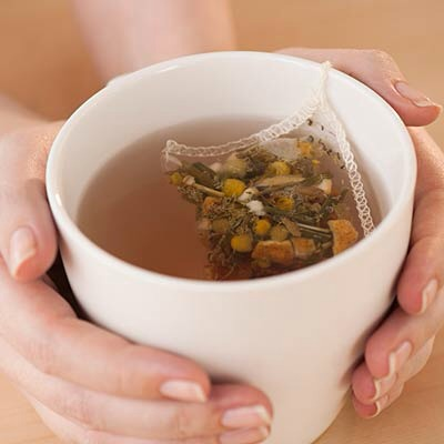 *Chamomile* If you have a jittery moment, a cup of chamomile tea might help calm you down. Some compounds in chamomile (Matricaria recutita) bind to the same brain receptors as drugs like Valium.