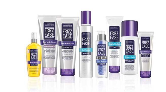 I find that anything by frizz ease is great and really does eliminate frizz
