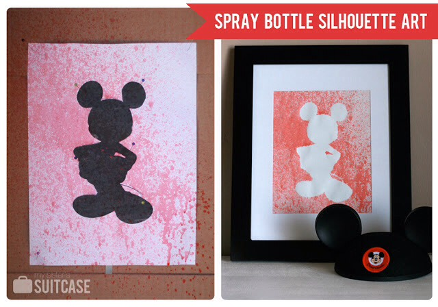 Put print in a spray bottle and have fun