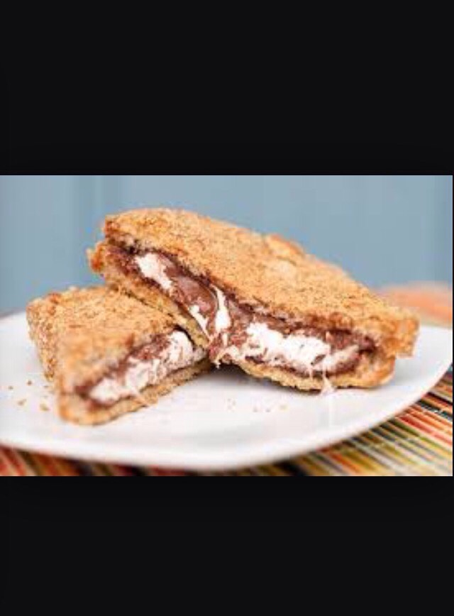 How to make a delicious Nutella and marshmallow tostie in seconds!
