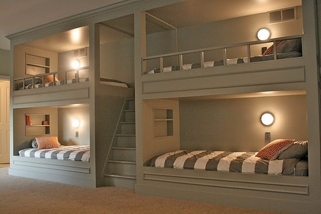 Bunks for guest