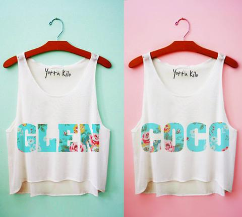 This matching set of crop tops.  http://www.yottakilo.com/products/glen-coco-best-friends-crop-tank-tops