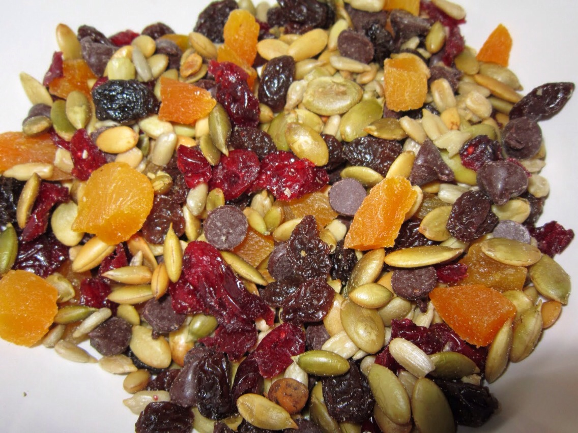 This recipe is not only satisfying and flavorful — it is also good for you and good for your heart. Just remember that nuts, in particular, pack a calorie-punch, so a little goes a long way.