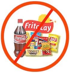 No junk food . If you want to lose some weight and your tempted because you have them in your house , throw them away .