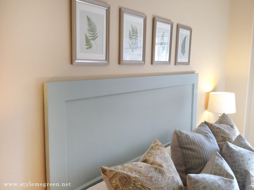 --> Simple Door Headboard -> Just paint any color you wish!