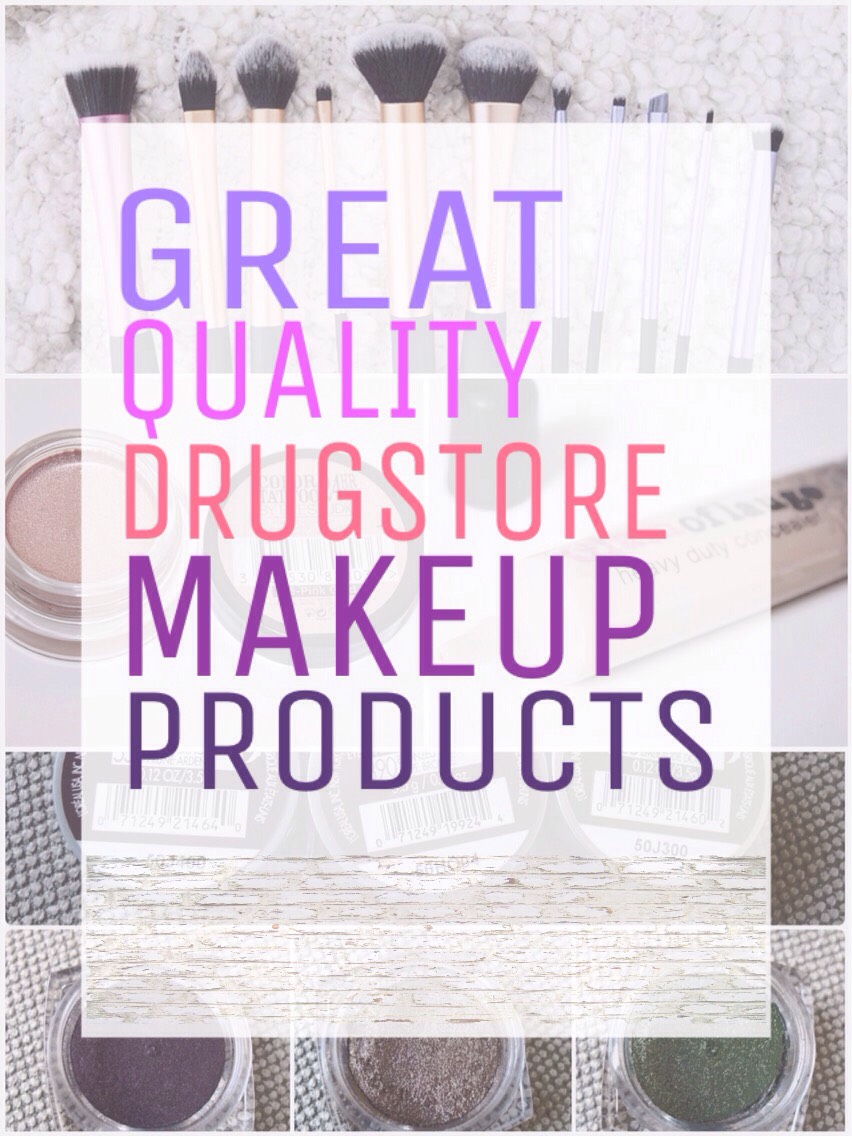 Here are some of the best makeup products you can find at the drugstore...