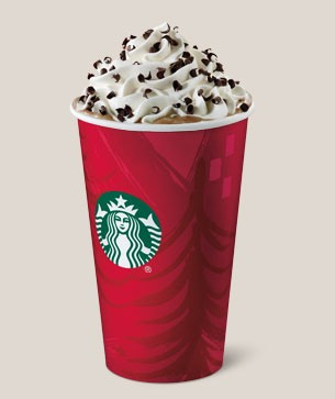 Peppermint mocha, perfect for the holiday season! (Even though it's spring oops)