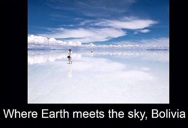 Where the earth meets the sky
