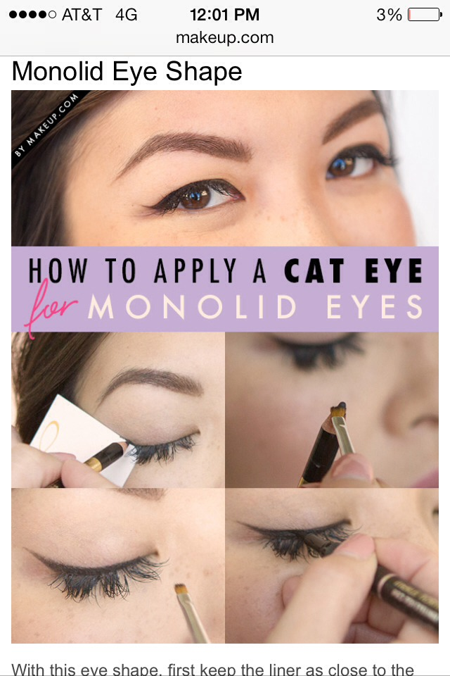 Eyeliner For Different Eye Shapes By Manda L Musely