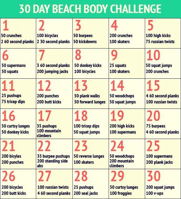30 Musely Chawdhury Beach Body Day Challenge By Eva dsQrCthxB