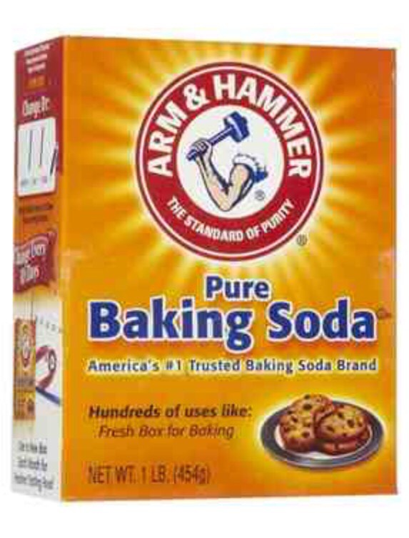 All you need is baking soda. That's right BAKING SODA!!